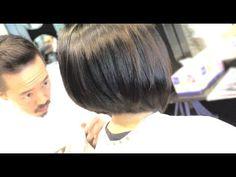 graduated bob haircut tutorial / bob hair cutting videos - YouTube