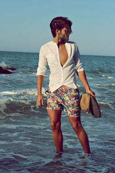 Good mens wear for beach