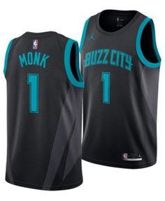 0312b6b4819 Nike Men Malik Monk Charlotte Hornets City Swingman Jersey 2018. Malik  MonkCharlotte HornetsSports Fan ShopNike MenNba