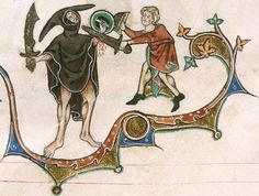 Gorleston Psalter, English, 1310-24.