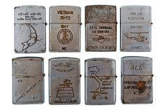 RETROSPECT: Vintage Vietnam War Zippo Lighters   Hypebeast