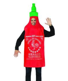 Loving this Sriracha Costume - Adult on #zulily! #zulilyfinds