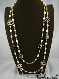 Vintage Chanel Necklace...love it!