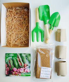 Make your own kids gardening kit