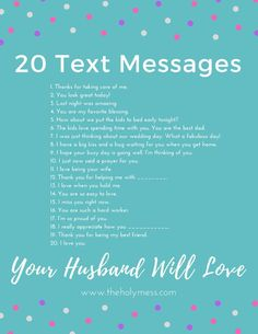 20 Text Messages Your Husband Will Love ❤ Show your husband you are thinking about him with these text message reminders. 20 text messages your husband will love. Marriage Relationship, Marriage And Family, Strong Marriage, Relationship Challenge, Godly Marriage, Marriage Goals, Marriage Scripture, Marriage Challenge, Marriage Is Hard