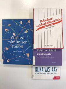 Blogissa Kirjastossa välitetään – asiakkaista ja kirjoista https://laureakirjasto.wordpress.com/2017/10/20/kirjastossa-valitetaan-asiakkaista-ja-kirjoista/