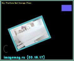 Diy Platform Bed Storage Plans 183726 - The Best Image Search