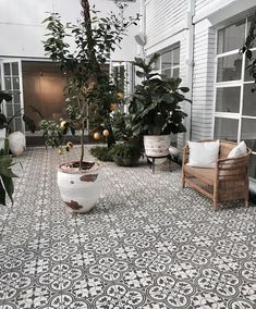 All the nitty-gritty on our Three Birds Renovations projects! Terrace Tiles, Garden Tiles, Patio Tiles, Outdoor Tiles Patio, Balcony Tiles, Outdoor Patios, Outdoor Rooms, Outdoor Living, Backyard Patio