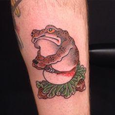 Ichibay Thigh Sleeve, Frog Tattoos, Skeleton Decorations, Japanese Artwork, Irezumi, Japan Art, Toad, Tatoos, Skull