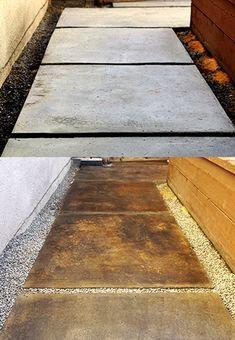 Las Mejores 30 Ideas De Concreto Oxidado Concreto Oxidado Piso De Concreto Concreto