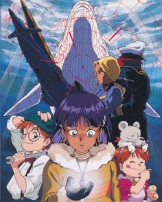 Nadia: The Secret of Blue Water: Nadia THE SECRET OF BLUE WATER Blu-ray BOX #01 - Minitokyo