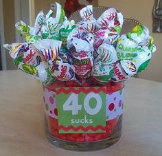 40th Birthday Party Idea - my favorite - I can remember sneaking out of the junior high to buy these at the 7-11.
