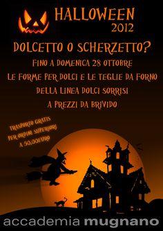Halloween 2012  Le forme per dolci e le teglie da forno  a prezzi da BRIVIDO!!!  (fino al 28 ottobre 2012)