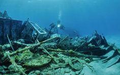 Diving in Nora, Sardinia: the sunken road to Roman ruins