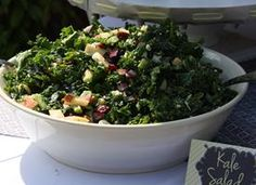Apple, Kale, and Feta Salad from Tablespoon. http://punchfork.com/recipe/Apple-Kale-and-Feta-Salad-Tablespoon
