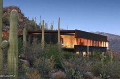 Custom, contemporary high desert home - award-winning architect. Call us for details: Alan Freedman 520-906-1976 0r Caroline Freedman 520-405-1794