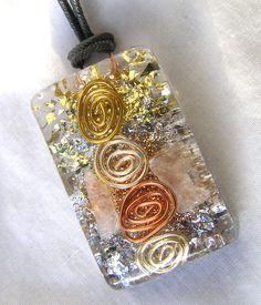 affordable EMF negater... Aura Purifier Orgone Crystal Healing Energy by mysticrocksorgone, $27.99