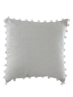 Palm Print Cushion - Grey