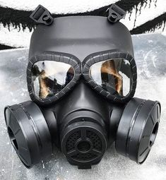 Steampunk Gas Mask - Basic Matte Black Full Face DIY 'BIO-HAZARD' Steampunk Post-Apocalyptic Gas Mas Gas Mask Art, Masks Art, Steampunk Gas Mask, Steampunk Costume, Outdoor Activities For Adults, Plague Doctor Mask, Airsoft Guns, Full Face, Matte Black
