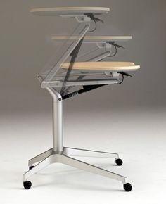 Commercial computer table - RISEFIT - Okamura