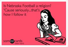 Huskers religion!