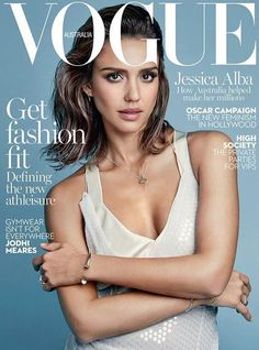 sinnamonscouture: Jessica Alba Covers Vogue Australia February 2016