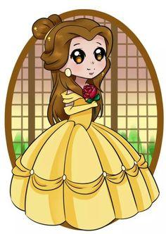 #disney #princess #belle #baby #labellaelabestia #thebeautyandthebeast