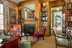 High End Concept Board, Library, law office, southern sophistication, hays town inspired, wood paneled walls, cypress wood, built ins, bookcases, cypress bookcases, cypress built ins. Sean  Metropolitan Musings: gil schafer  High End Concept Board, high end,