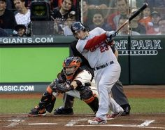 Game 1 of the NLCS- Freese hits a 2 run homerun  10-14-12