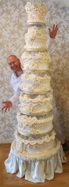 Beautiful Wedding Cake... Cakes Free Hand Cake Decorating Zone Has Been Designed To Give cakepins.com