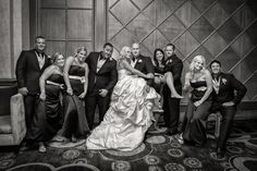 Amy and Jeremy's bridal party were so much fun to photograph!  Love this shot!