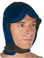 therapeutic head and neck gel pack | cranial head and neck sleeve hot and cold pack