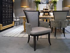 ROSITA dining chair at ISALONI 2013, Milano. Copyright by Coleccion Alexandra.