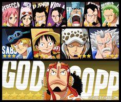 One Piece 746 - Stars by SergiART.deviantart.com on @deviantART