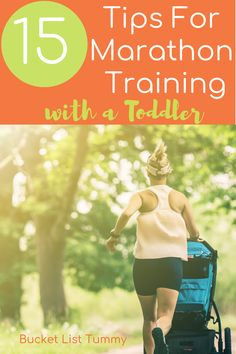 Training for a marathon with kids is hard, but not impossible. These 15 tips helped me manage motherhood and marathon training. Marathon Tips, Half Marathon Training, Marathon Running, Marathon Recovery, Treadmill Workouts, Running Workouts, Running Tips, Running Humor, Running Motivation