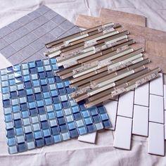Kitchen tiles backsplash glass showers Ideas for 2019 Kitchen Backsplash Peel And Stick, Peel And Stick Tile, Stick On Tiles, Backsplash Ideas, Backsplash Tile, Tiling, Tile Ideas, Kitchen Tiles, Kitchen Decor