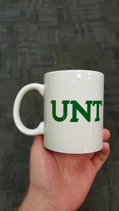The University of North Texas really didn't think this mug through properly = LOL
