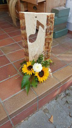 Tischgesteck Sonnenblumen