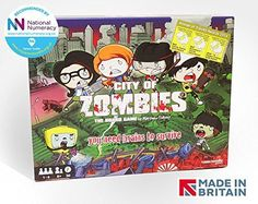 City of Zombies The Board Game by ThinkNoodle Games @ niftywarehouse.com #NiftyWarehouse #Zombie #Horror #Zombies #Halloween