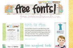 http://www.kevinandamanda.com/fonts/