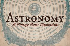 Vintage Astronomy Illustrations by Mr Vintage on @creativemarket
