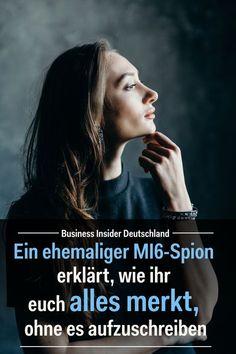 Informationen im Gehirn speichern, ohne sie aufschreiben zu müssen — so könnt ihr es lernen. Artikel: BI Deutschland Foto: Shutterstock/BI