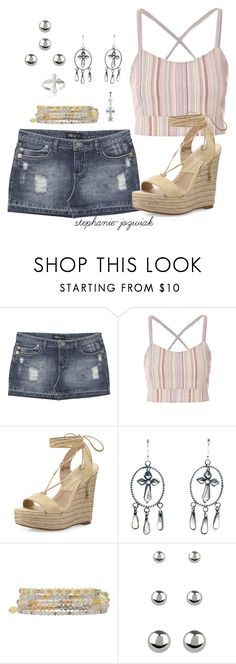 """""""Etta's Outfit for Audrianna's Baby Shower"""" by stephanie-jozwiak ❤ liked on Polyvore featuring Wet Seal, Michael Kors, Child Of Wild, M&Co, Accessorize and Journee Collection"""