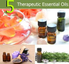 5 Therapeutic Essential Oils | Heart Craft