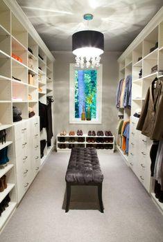 ▷ Ankleidezimmer Ideen - Planen Sie einen begehbaren Kleiderschrank?