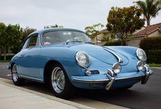 1961 Porsche 356B Karmann Hardtop...Highest bid $64,010- Sept 2014, about £42,000.