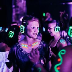 Quiet Events, Quiet Clubbing, Silent Disco Headphone Party