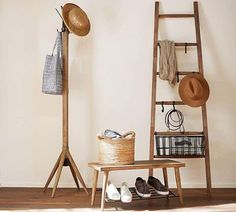 Leaning Ladder  | Scandinavian Design Interior Living | #scandinavian #interior