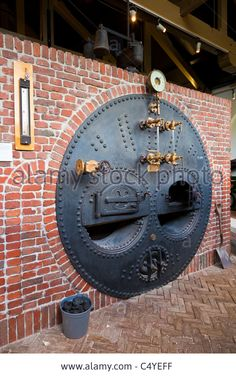 Boiler At De Cruquius Steam Powered Water Pumping Station Museum Stock Photo, Picture And Royalty Free Image. Pic. 37483475