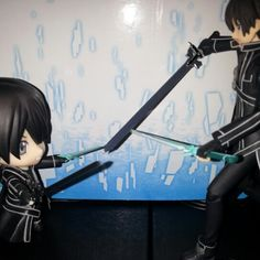 Kirito vs Kirito. Guess who will win this duel?